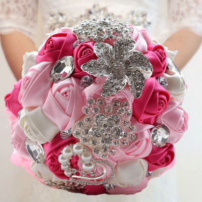 Bridal bouquet of peonies | Wedding bouquet vintage_8