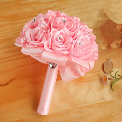 Brautstrauß Rosen Weiß | Hochzeitsstrauß Online Bestellen_3
