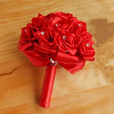 Brautstrauß Rosen Weiß | Hochzeitsstrauß Online Bestellen_4