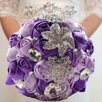 Bridal bouquet of peonies | Wedding bouquet vintage_11