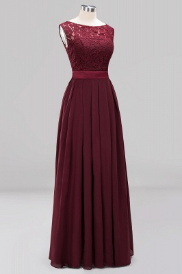 Burgundy Bridesmaid Dresses Long Cheap | Dresses for wedding guests_11