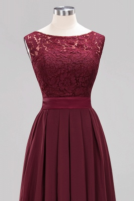 Burgundy Bridesmaid Dresses Long Cheap | Dresses for wedding guests_12