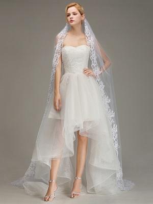 Brautschleier Kurz | Hochzeitsfrisur mit Schleier