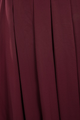 Burgundy Bridesmaid Dresses Long Cheap | Dresses for wedding guests_16