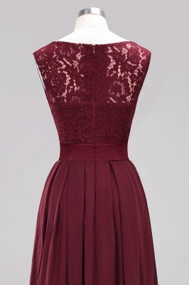Burgundy Bridesmaid Dresses Long Cheap | Dresses for wedding guests_13
