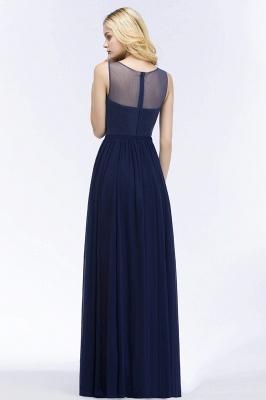 Elegante Brautjungfernkleider Mit Spitze | Brautjungfernkleid Navy Blau_2