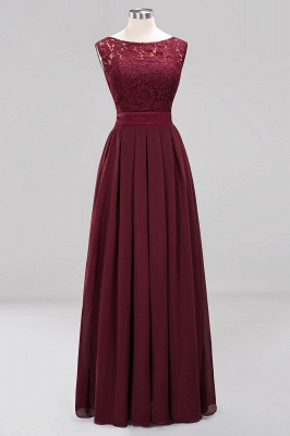 Burgundy Bridesmaid Dresses Long Cheap | Dresses for wedding guests_9
