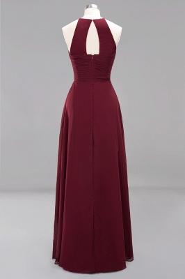 Schlichte Brautjungfernkleider Rot | Günstige Kleider Für Brautjungfern_42