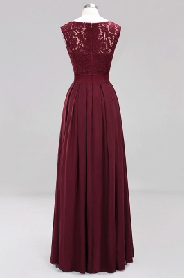 Burgundy Bridesmaid Dresses Long Cheap | Dresses for wedding guests_10