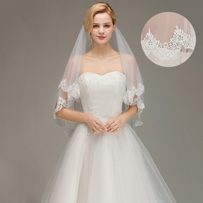 Wedding dress with veil | Wedding veil with lace_3