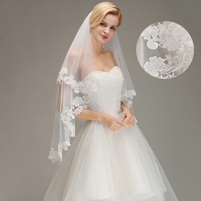 Bridal veil with lace | Buy Veils Online_3