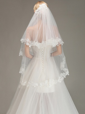 Bridal veil with lace | Buy Veils Online_2