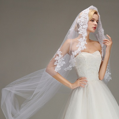 Bridal veil Ivory | Veil wedding_5