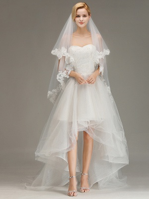 Bridal veil with lace | Buy Veils Online