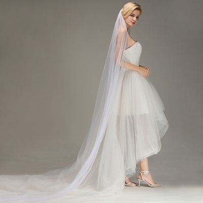 Bridal veil Ivory | Veil wedding_4