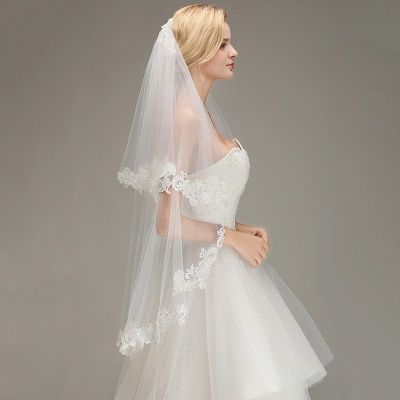 Bridal veil with lace | Buy Veils Online_6