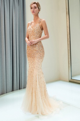 Modern prom dresses long cheap evening wear online_1