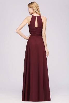 Schlichte Brautjungfernkleider Rot | Günstige Kleider Für Brautjungfern_36