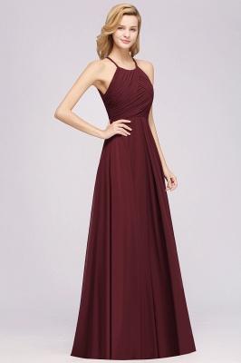 Schlichte Brautjungfernkleider Rot | Günstige Kleider Für Brautjungfern_37
