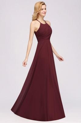Schlichte Brautjungfernkleider Rot | Günstige Kleider Für Brautjungfern_38