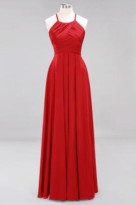 Schlichte Brautjungfernkleider Rot | Günstige Kleider Für Brautjungfern_8