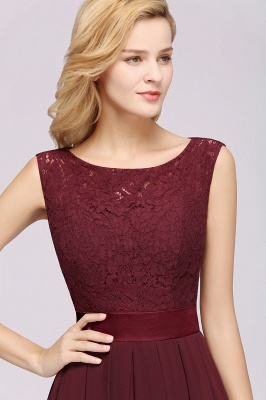 Burgundy Bridesmaid Dresses Long Cheap | Dresses for wedding guests_6