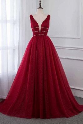 Abendkleid Rot Lang Günstig | Abendkleider Festlich Online_1