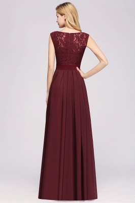 Burgundy Bridesmaid Dresses Long Cheap | Dresses for wedding guests_2