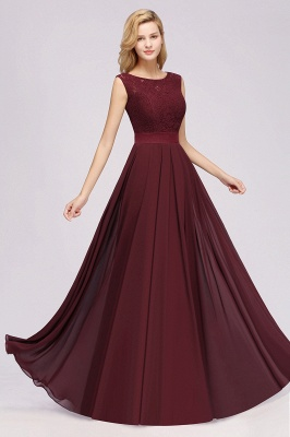 Burgundy Bridesmaid Dresses Long Cheap | Dresses for wedding guests_5