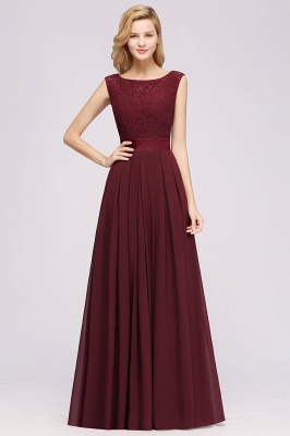 Burgundy Bridesmaid Dresses Long Cheap | Dresses for wedding guests_3