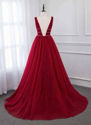 Abendkleid Rot Lang Günstig | Abendkleider Festlich Online_2