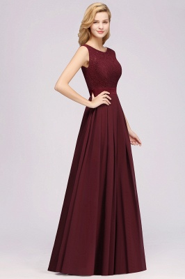 Burgundy Bridesmaid Dresses Long Cheap | Dresses for wedding guests_4