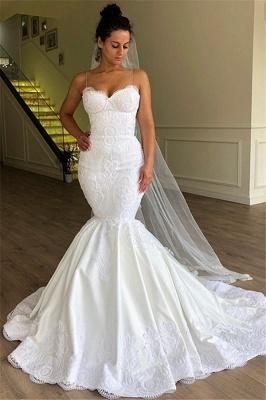 Simple wedding dresses lace | Buy mermaid wedding dress online_1