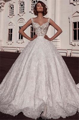 Designer Brautkleider A Line | Hochzeitskleid Aus Spitze_1