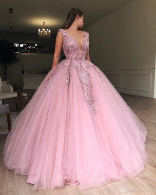 Buy princess pink evening dresses online at low prices_3