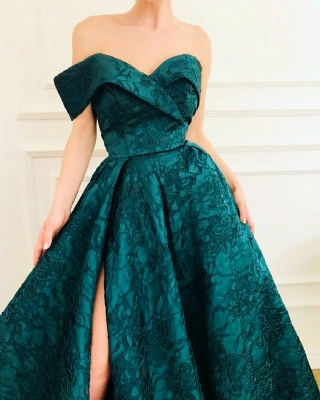 Chic Evening Dresses Long Cheap Buy | Green evening dress_2