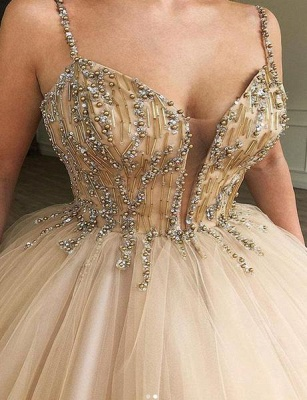 Elegante Abendkleider Lang Günstig | Prinzessin Abiballkleider Online_2
