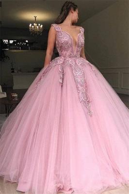Elegant evening dresses long pink | Buy cheap prom dresses_1