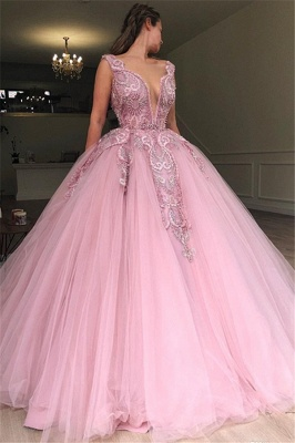 Buy princess pink evening dresses online at low prices_1