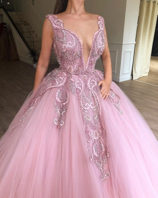 Buy princess pink evening dresses online at low prices_2