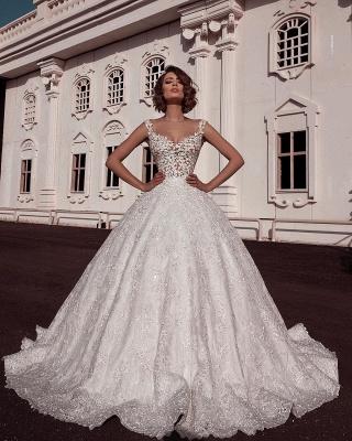 Designer Brautkleider A Line | Hochzeitskleid Aus Spitze_2