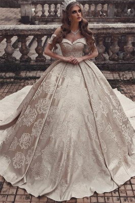 Luxury wedding dresses A line | Princess wedding dress online_1