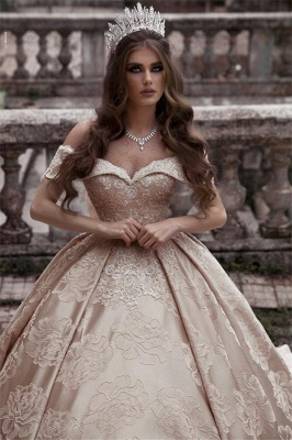 Luxury wedding dresses A line | Princess wedding dress online_3