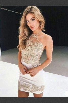 Cheap Cocktail Dresses Short With Lace Sheath Dress Party Dresses Online_1