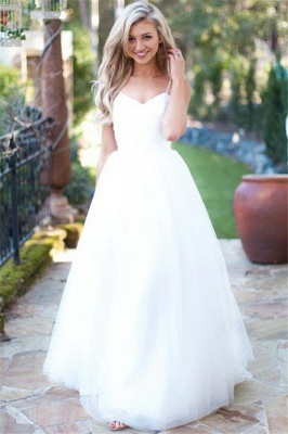 Simple wedding dress A line | Wedding Dresses Cheap Online_1