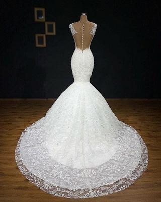 Exklusives Hochzeitskleider Mit Spitze | Brautkleid Meerjungfrau Online_3