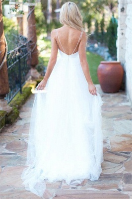 Simple wedding dress A line | Wedding Dresses Cheap Online_2