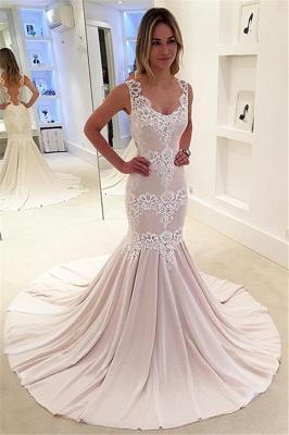 Designer Hochzeitskleider Standesamt Spitze Meerjungfrau Brautkleider Online Kaufen_1