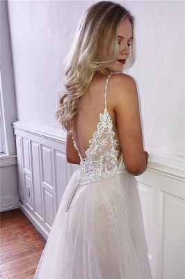 Elegant Evening Dresses Long Backless With Lace   Shift dresses cheap online_2