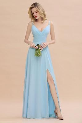 Blaue Brautjungfernkleider Lang Günstig | Kleider für Brautjungfern